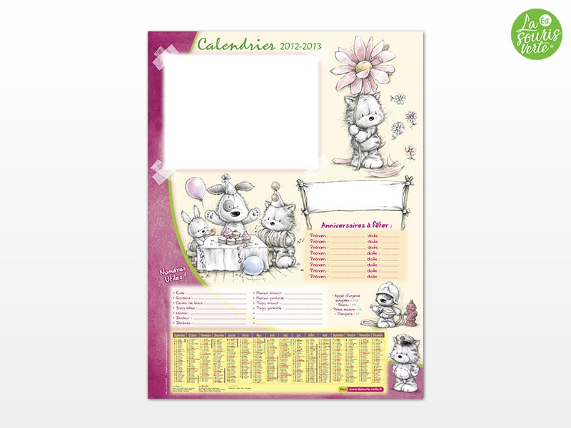 Calendriers Grand Format