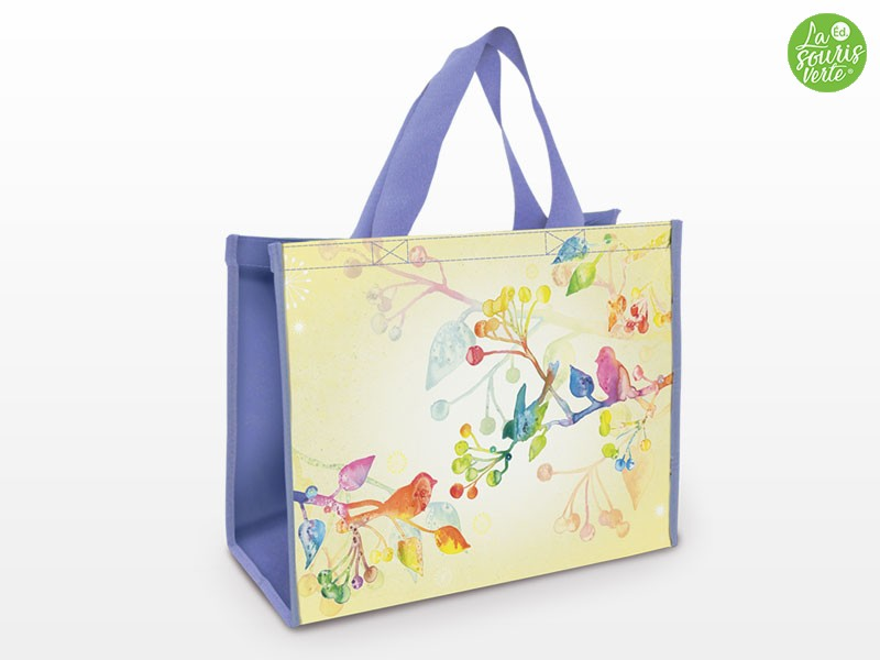 Sacs Shopping Star  Aquarelle