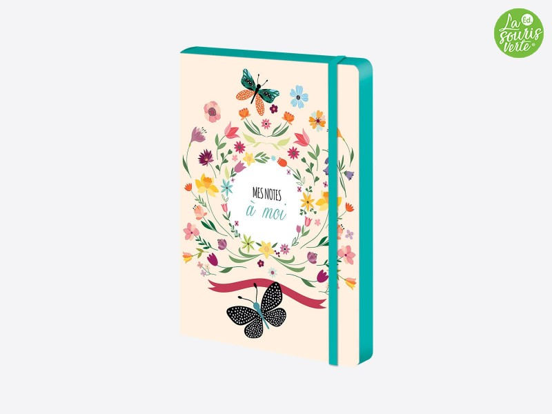 """Cahier A5 """"Flowers"""""""