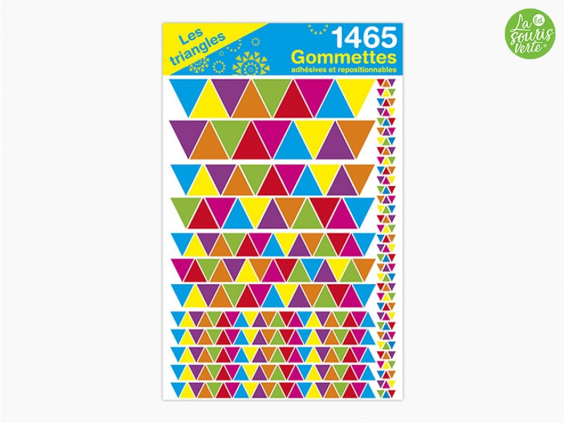 "Gommettes ""Les triangles"""