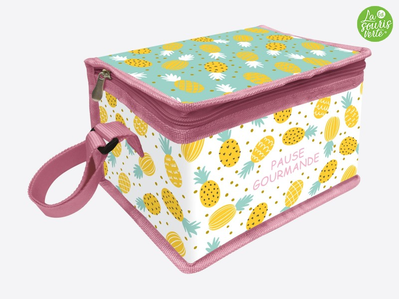 "Lunch Bag ""Ananas"""