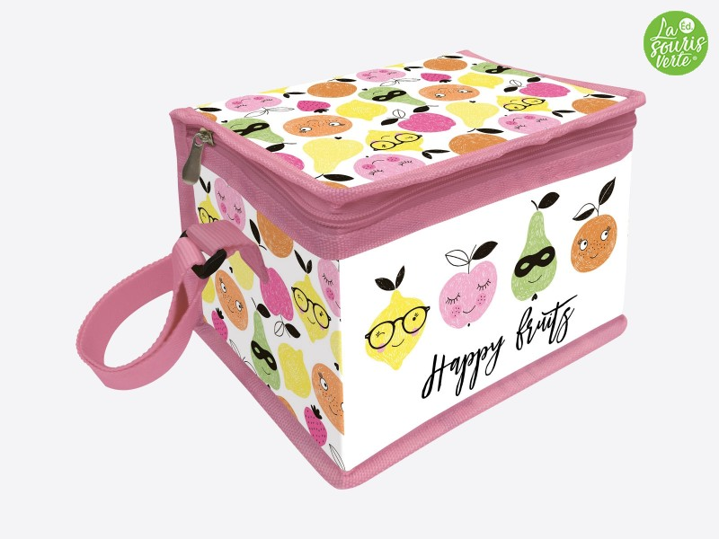 """Lunch Bag """"Happy Fruits"""""""
