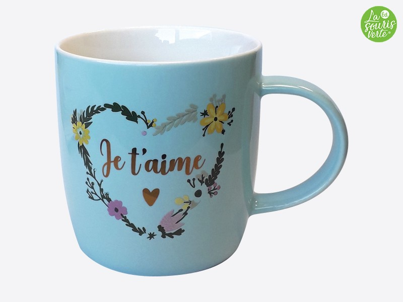 "Mug Color ""Je t'aime"""