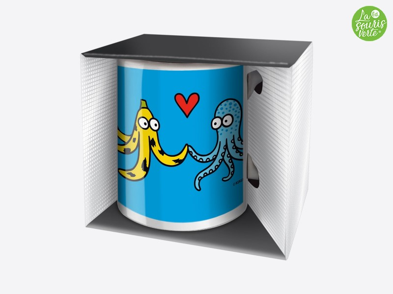 "Mug Trendy ""Love in the sea"""