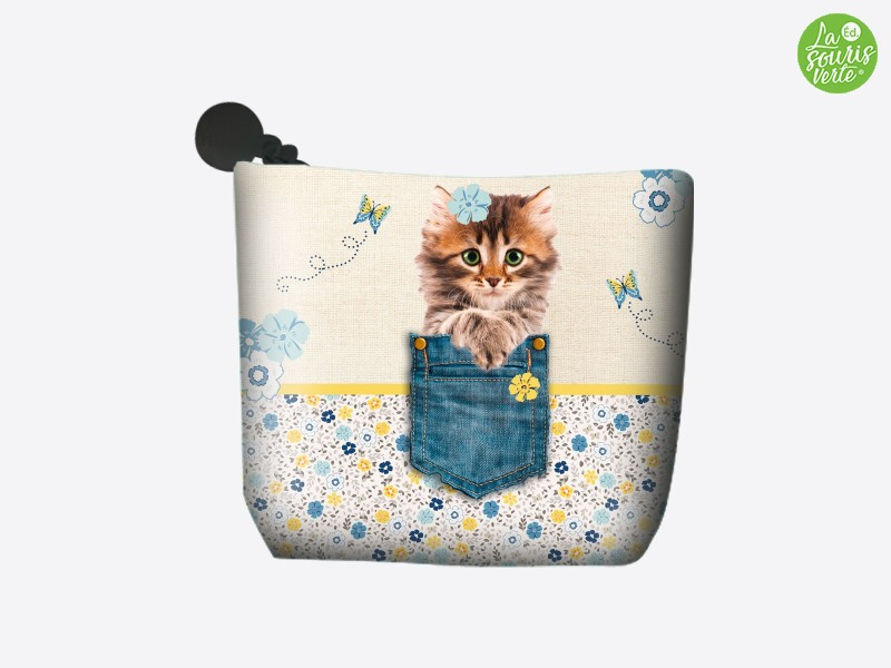 "Porte monnaie ""Chat Pocket"""