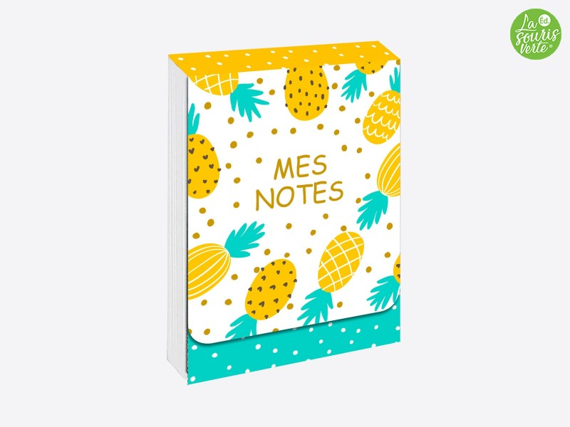 "Pocket note ""Ananas"""