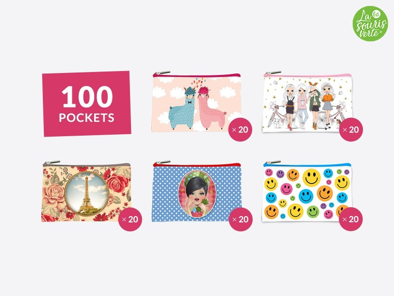 Assortiment 100 pockets