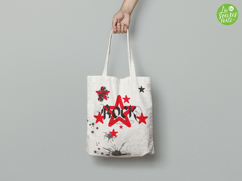 "Tote Bag ""Rock Star"""