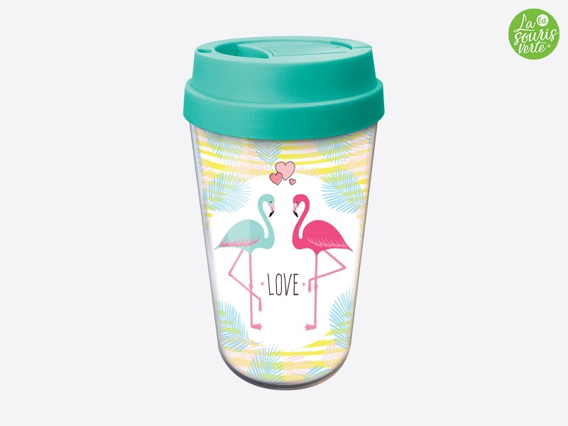 "Travel Mug ""Love"""