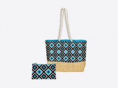 Jute Bag Grafika et pocket assortie
