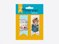"Marque pages ""Dog & Cat"""