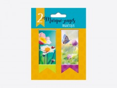 """Marque pages """"Flowers"""""""