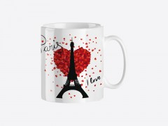 "Mug trendy ""Paris I love you"""