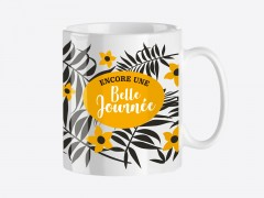 "Mug Or ""Belle journée"""
