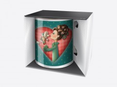 "Mug Trendy ""I love my dog"""