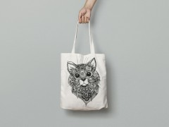 "Tote Bag ""Cat"""