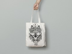 "Tote Bag ""Wolf"""