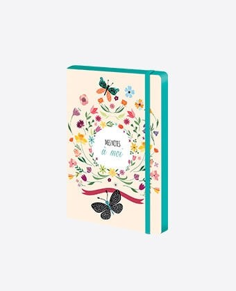 "Cahier A5 ""Flowers"""