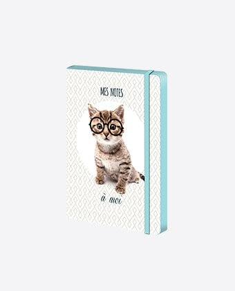 "Carnet A5 ""Intello Kitty"""
