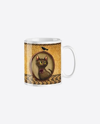 "Mug trendy ""Kitty"""