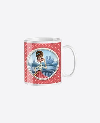 "Mug trendy ""Miss Paris"""