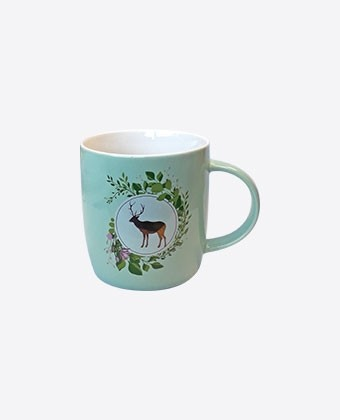 "Mug Color ""Cerf"""