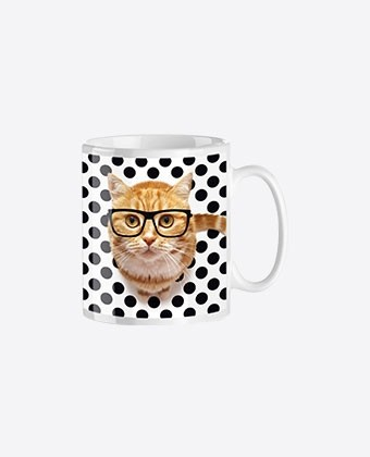 "Mug Trendy ""Intello cat"""