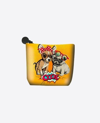 "Porte monnaie ""Cool Dogs"""