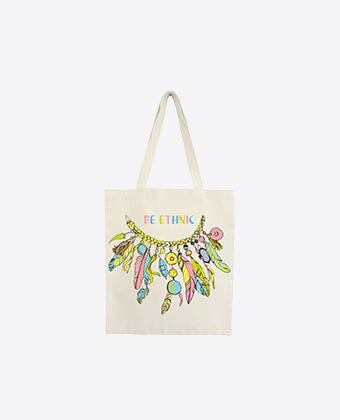 "Tote Bag ""Be Ethnic"""