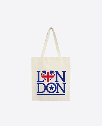 "Tote Bag ""London Star"""