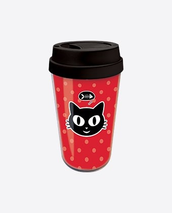 "Travel Mug ""Miaou"""
