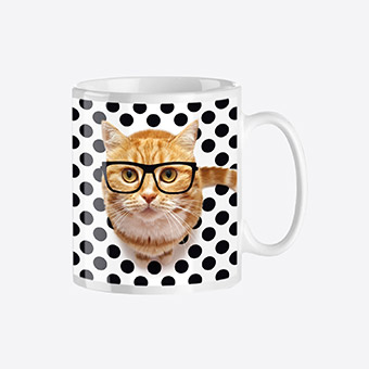 Box La Mini Box - Mug Trendy Intello cat