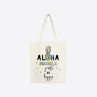 Box La Mini Box - Tote bag Aloha summer