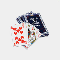 Kit H Tombola - jeux de 32 cartes