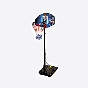 Kit H Tombola - panier de basket et son support h 188 cm diam 33,5 cm