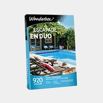 Kit G Tombola - coffret Wonderbox escapade en duo