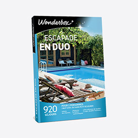 Kit F Tombola - coffret Wonderbox escapade en duo